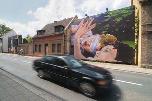 """Aschersleben: Die im Rahmen der IBA Stadtumbau 2010 initiierte DRIVE THRU Gallery präsentiert die Ausstellung """"Hitzefrei"""" mit Arbeiten von Christopher Winter."""
