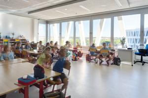 Ein Klassenzimmer der Grundschule