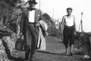 Ankunft Le Corbusiers in Cap-Martin