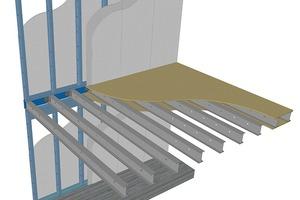 Abb.1: Muster-Querschnitt Wand-Deckenverbindung