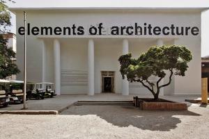Zentraler Ausstellungspavillon in den Giardini, eigentlich Padiglioni Italia