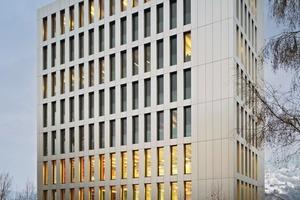 Der LifeCycle Tower ist ein Holz-Beton-Hybridsystem, das in interdisziplinärer Zusammenarbeit von einem internationalen Team unter der Leitung der Cree GmbH entwickelt wurde