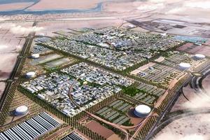 Masdar City, Entwurf von Foster + Partner, Energiekonzept: Transsolar<br />