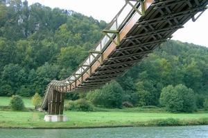 Holzbrücke bei Essing