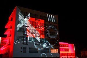 Kategorie: Lichtkunst Projekt: Kreisrot Urbanscreen GmbH & Co. KG, Till Botterweck, Daniel Rossa (Fotos: Urbanscreen)