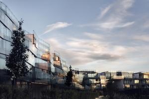 In der Kategorie Wohngebäude des Jahres (Mehrfamilien) gewann der Milanofiori Wohnkomplex, Mailand, Italien, von OBR Open Building Research S.r.l. Die gewannen auch den Preis des Gesamtsiegers 2011