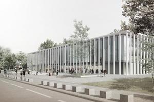 So wird es also ausssehen: das neue Besucherzentrum Bundestag, Berlin<br />