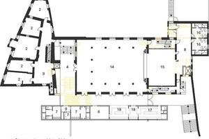 1. Obergeschoss, M1:500<br />