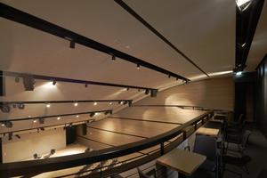 Formal scheint der Konzertsaal vom Schiffsbau inspiriert