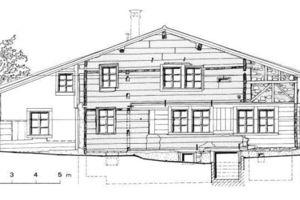 Das 1175 im Kanton Schwyz erbaute und mittlerweile demontierte Nideröst Haus ist das älteste Holzhaus Europas.
