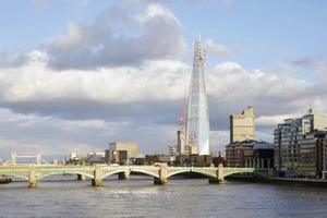 Fertig: der Shard London Bridge-Tower von Renzo Piano<br />