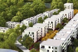 Im ländlich geprägten Umfeld einer Hamburger Vorstadt setzen Häuser für Singles, Paare und Familien neue Maßstäbe für urbanes Wohnen<br />