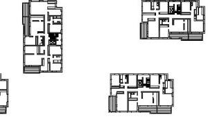 Grundriss Regelgeschoss, M 1:1000