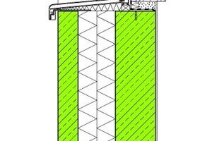 Abb. 3: Außenwand aus Betonfertigteilen mit Kerndämmung (Sandwichkonstruktion)
