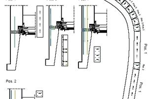 Übergang Schrägfassade in Dachrand, rechts<br />
