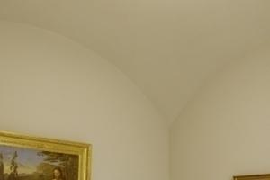 Seitenlichtkabinett mit zeitgenössischer Beleuchtung (EG)
