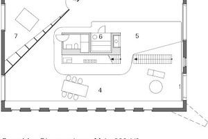 Obergeschoss, M 1:333 <sup>1</sup>/3