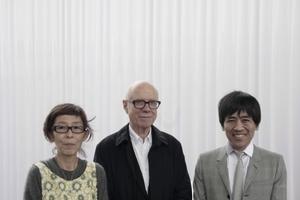 Die Architekten und ihr Bauherr (v.l.): Kazuyo Sejima, Rolf Fehlbaum und Ruye Nishizawa