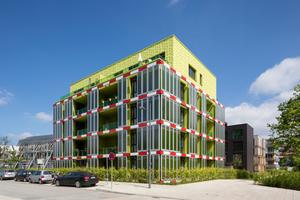 Die Fassadenpaneele des Gebäudes BIQ in Hamburg sind das Pilotprojekt von FABIG. Die gewonnen Erkenntnisse aus dem Monitoring von BIQ, helfen den Forschern FABIG weiterzuentwickeln und zu verbessern