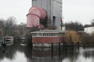Auf der Schleuseninsel am Berliner Tiergarten: der Umlauftank der Versuchsanstalt für Routinetests im Schiffbau