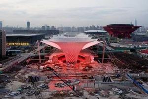 Membrandach für die Eingangsachse der Expo, Shanghai