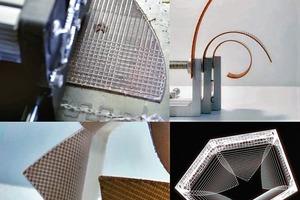 Programmierte Materialbewegung mittels aufgedruckter Reaktoren