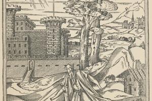 """Das Bild des Architekten wird auch kritisch betrachtet - Philibert de l'Orme, """"Der schlechte Architekt"""", in: Le premier tome de l'archi-tecture, Paris 1567"""
