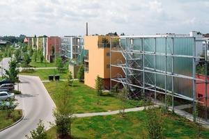 Die Südliche Furth in Neuss erhielt unter anderem den Landespreis für Architektur, Wohnungs- und Städtebau als energieeffizientes Bauwerk<br />