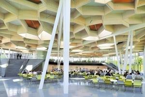 Foto: Stephan Sahm, TRUMPF Betriebsrestaraunt, Barkow Leibinger Architekten