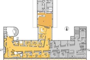 Grundriss 6. Obergeschoss, M 1:400