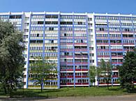 Haus der WG Lichtenberg in Berlin