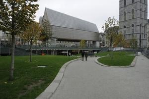 Rathaus, Gent, Belgien, Robbrecht en Daem architecten, Marie-José Van Hee architecten