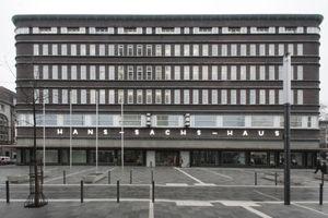 Hans Sachs Haus 2014: Historische Hülle, neues Innenleben für immer noch den alten Zweck