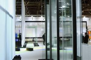 Die Musterfassade wurde auf der glasstec 2010 erstmals der Öffentlichkeit vorgestellt<br />