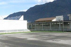 Masterplanung (1979) Monte Carasso; hier Erweiterung der Grundschule (2003)
