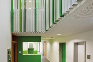 Kita Niddaforscher: Wichtig für raum-z architekten sind Flure mit Lufträumen und Galerien