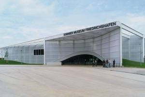 Dornier Museum in Friedrichshafen,Klimakonzept: Transsolar<br />