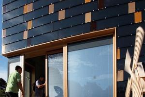 """The """"big black Monolith""""(New York Times) ist ein Plusenergiehaus und eigentlich ganz freundlich<br />"""