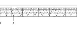 Detail Schnitt, M 1:333 <sup>1</sup>/3<br />