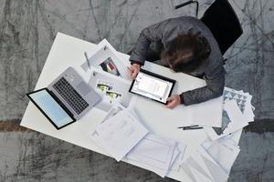 Der Entwicklungsprozess: Architekt Klaus Wetzstein arbeitet an Entwürfen