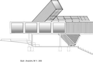 Süd-Ansicht, M 1:200