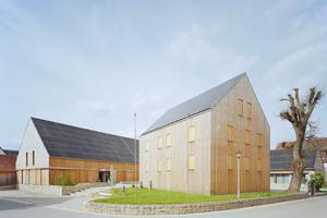 Sieger im Architekturpreis Gebäudeintegrierte Solartechnik 2017: Hof 8, Weikersheim (Architekturbüro Klärle, Bad Mergentheim), Foto: Brigida Gonzales