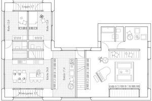 Grundriss-Ausschnitt Ebene 3<br />