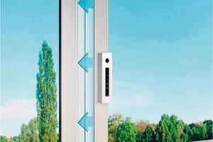 Universal Design am Beispiel eines Lüftungsfensters mit Parallelausstellfunktion und motorischem Antrieb (auch zum Nachrüsten)
