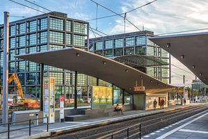Eine von vier Auszeichungen: Tramhaltestelle, Berlin