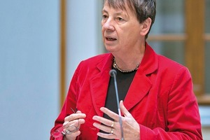 Bundesministerin Barbara Hendricks
