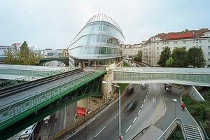 """""""Skyline Spittelau"""", zeitgenössische Architektur auf historischem """"Baugrund""""<br />"""