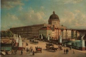So wird es nimmer mehr werden, aber mancher glaubt immer noch, es würde so: Berliner Hohenzollernresidenz, demnächst Humboldt-Forum