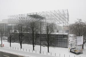 Temporäre Architektur in teuerstem Museumsviertel