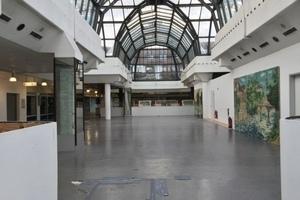 Die Marktpassage in Bielefeld steht seit Ende Januar 2015 leer